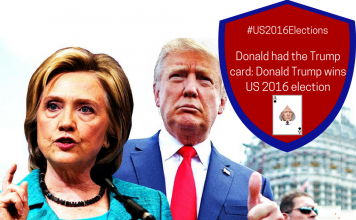 Donald had the Trump card: Donald Trump wins US 2016 election