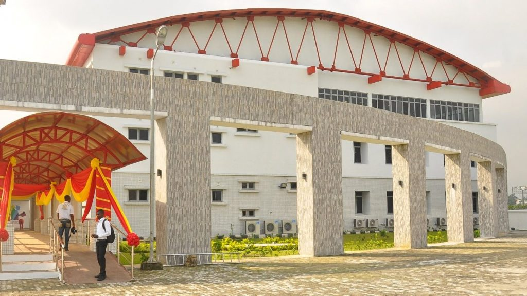 The ₦1 Billion (Nigerian Naira) e-library donated by Shell to the Port Harcourt Literary Society
