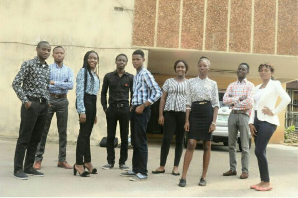 Nigerian Students in Team Synergy
