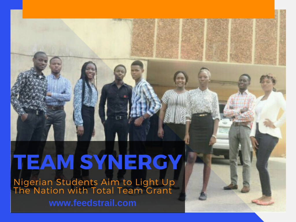 Nigerian Students Aim to Light Up The Nation with Total Team Grant